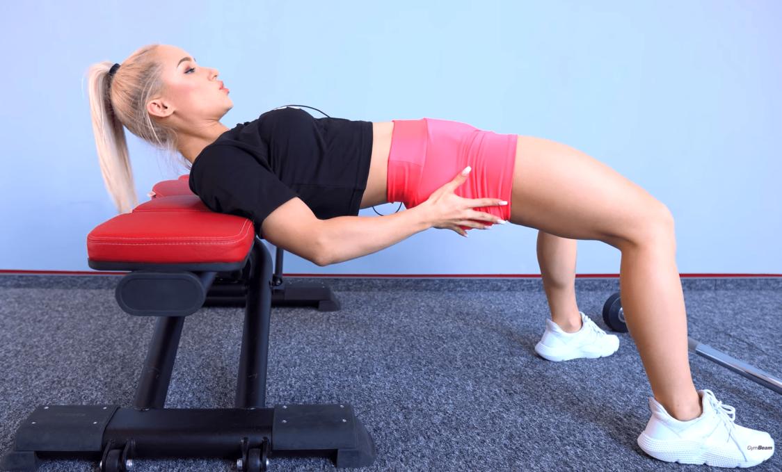 Verfahren zur korrekten Ausführung von Hip Thrust
