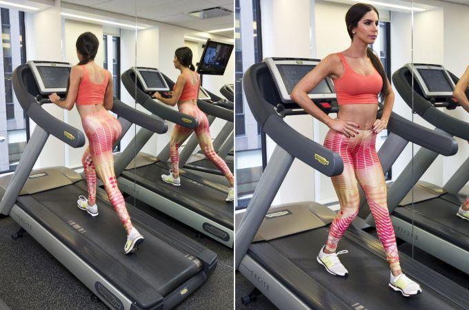 Jen Selter zeigte Training für den perfekten Hintern